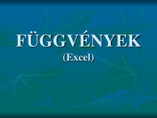 F GGV NYEK Excel