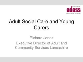 Adult Social Care and Young Carers