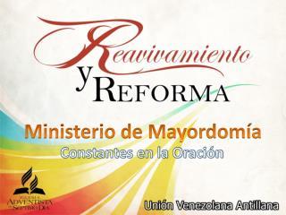 Ministerio de Mayordomía