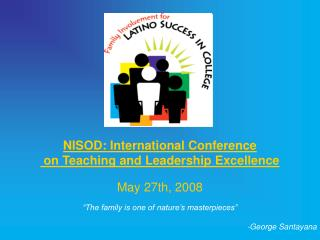NISOD: International Conference  on Teaching and Leadership Excellence May 27th, 2008
