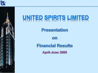 Presentation on  Financial Results  April-June 2009