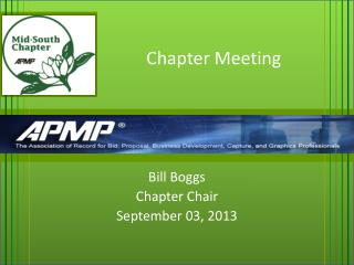 Chapter Meeting