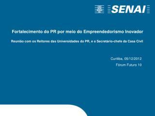 Curitiba, 05/12/2012 Fórum Futuro 10