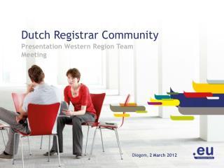 Dutch Registrar Community