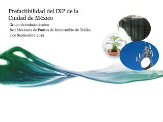 Prefactibilidad  del IXP de la Ciudad de México