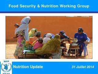 Situation nutritionnelle dans la r�gion