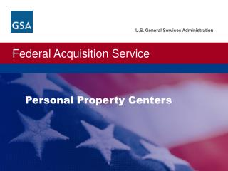 Personal  Property  Centers