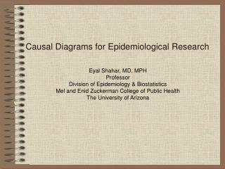 Causal Diagrams for Epidemiological Research