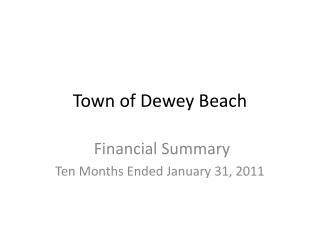 Town of Dewey Beach