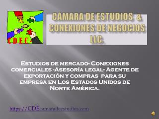 Cámara de Estudios  & conexiones de Negocios  LLC.