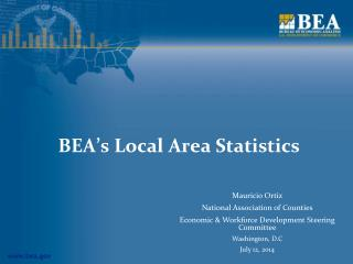 BEA's Local Area Statistics