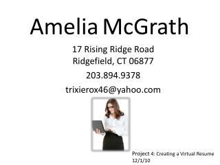 Amelia McGrath