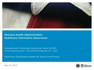 Veterans Health Administration Healthcare Information Governance