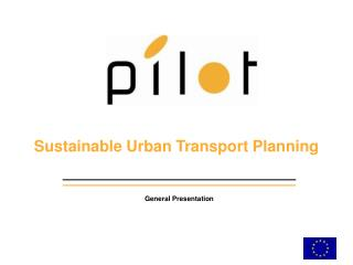 Sustainable Urban Transport Planning