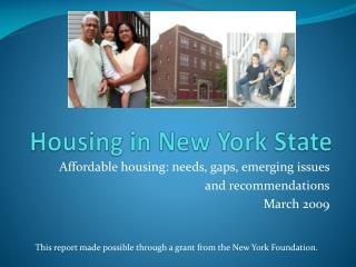 Housing in New York State