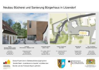 Neubau Bücherei und Sanierung Bürgerhaus in Litzendorf