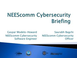 NEEScomm  Cybersecurity Briefing