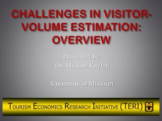 CHALLENGES IN VISITOR-VOLUME ESTIMATION: OVERVIEW