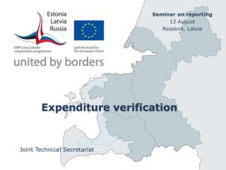 Expenditure verification