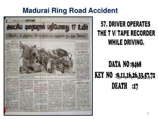 Madurai Ring Road Accident