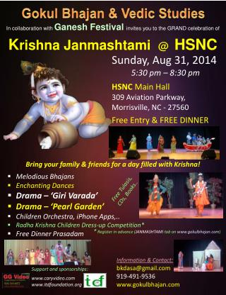 In collaboration with  Ganesh Festival invites you to the GRAND celebration of