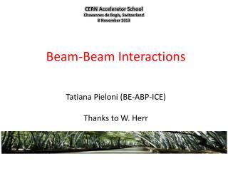 Beam -Beam  Interactions