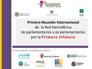 Primera Reunión Internacional  de  la Red Hemisférica
