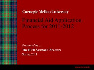 Financial Aid Application Process for 2011-2012