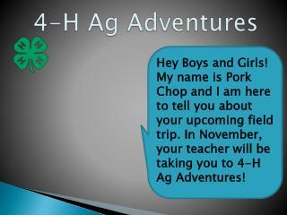 4-H Ag Adventures