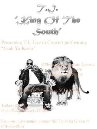 "T.I.  ""King Of The South"""
