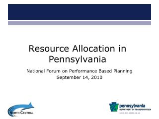 Resource Allocation in Pennsylvania