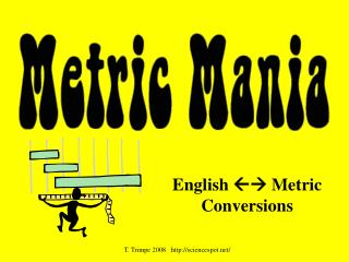 English   Metric Conversions