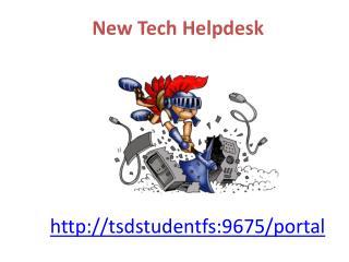 New Tech Helpdesk