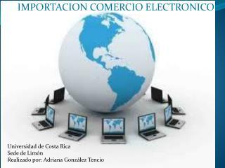 IMPORTACION COMERCIO ELECTRONICO