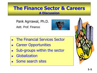 The Finance Sector  Careers  A Discussion