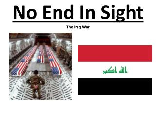 No End In Sight The Iraq War