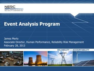 Event Analysis Program James Merlo