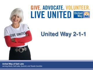 United Way 2-1-1