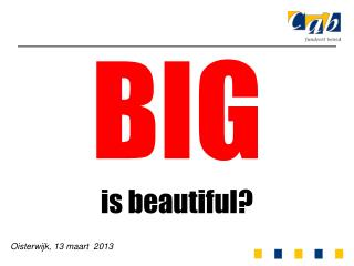 BIG is  beautiful ?