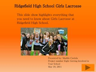 Ridgefield High School Girls Lacrosse