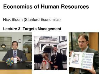Economics of Human Resources
