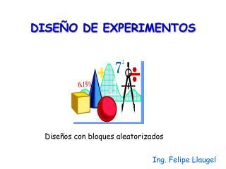 DISE O DE EXPERIMENTOS