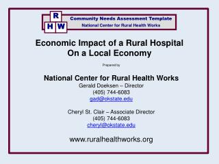 National Center for Rural Health Works