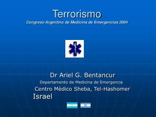 Terrorismo Congreso Argentino de Medicina de Emergencias 2004