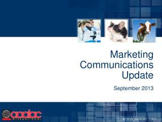 Marketing Communications Update