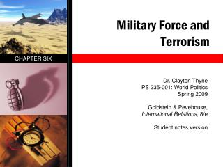 Military Force and Terrorism