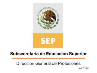 Subsecretaría de Educación Superior