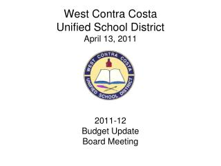 West Contra Costa Unified School District April 13, 2011