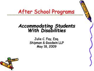 After School Programs