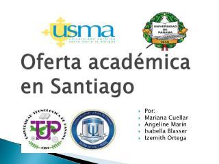 Oferta académica en Santiago